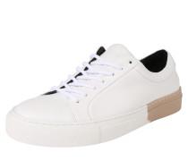 Sneaker 'elpique' sand / weiß
