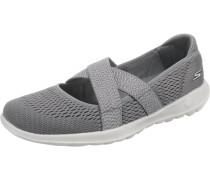 Sneaker 'GO Walk Lite' mit Riemen grau