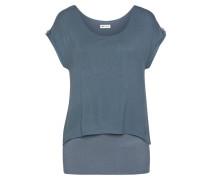 2-in-1-Shirt taubenblau