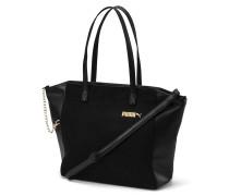 Shopper 'Premium Suede' schwarz
