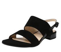 Sandalen 'Sandale Velours' schwarz