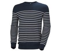 Pullover 'Skagen' navy / weiß