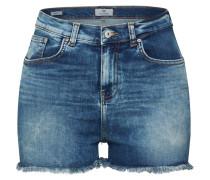 Jeansshorts 'layla' blue denim