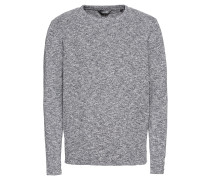 Pullover 'Knit - Langston' grau