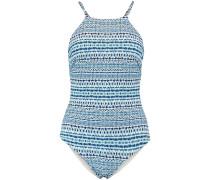 Badeanzug 'PW REV High Neck Swimsuit'