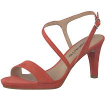 Sandale 'Sandal asymmetrisch' rot