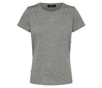 T-Shirt 'perla-Ss' graumeliert