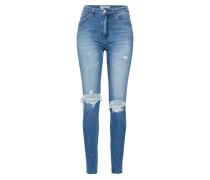 Jeans 'marilyn' blau