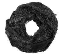 Schal schwarzmeliert