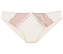 Slip rosa / weiß