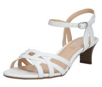 Sandale 'Birkin' weiß