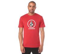 Crisp Stone Basic T-Shirt rot