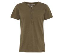 T-Shirt 'MT Lemonade button' oliv