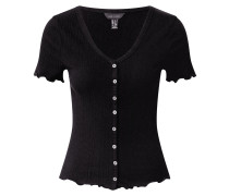 Shirt 'vari' schwarz