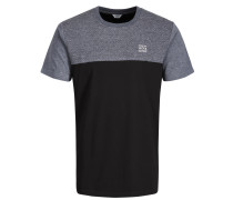 Lässiges T-Shirt schwarz