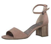 Klassische Sandaletten braun