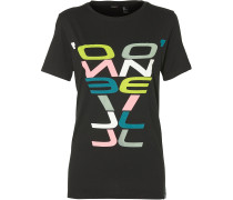 T-Shirt 'LW Re-Issue T-Shirt' schwarz