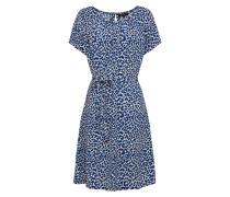 Kleid 'Billie Catnip' creme / royalblau