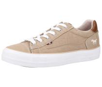 Sneaker sand / braun / weiß