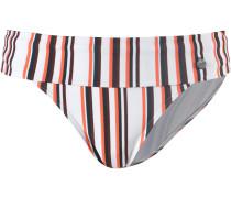 Bikini Hose mischfarben / weiß