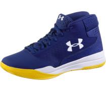 Jet Mid Sneaker Herren blau / gelb