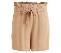 High Waist Shorts beige / braun