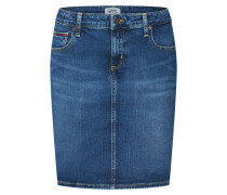 Jeansrock 'amdrm' blue denim