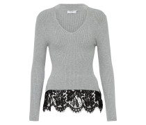 Pullover 'onlKAMIE' graumeliert