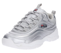 Sneaker 'Ray F' silber / weiß