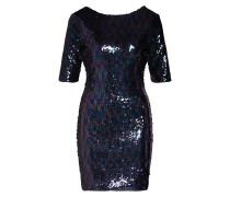 Kleid 'Sequin Mini Dress with Scoop Back'