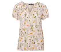 Blusen-Shirt beige