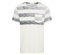 Shirt 'duff' blau / weiß