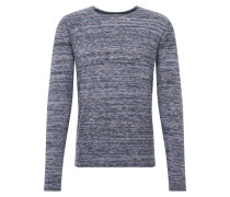 Pullover 'Hale O-neck Multi' navy