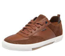 Sneaker 'U Kaven' cognac / weiß