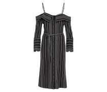 Kleid 'effie' schwarz / weiß