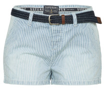 Shorts 'almalfi' blau / weiß