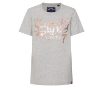 Shirt 'tokyo 7' grau