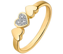 Ring '87381838' gold / silber