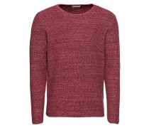 Pullover 'RH structur' rot
