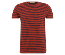 T-Shirt 'Andres Double Stripe' rot