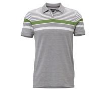 Shirt grau / grün / weiß