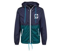 Jacke 'bmowt-Harpoon Jacket' grün / blau