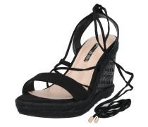 Sandale 'Robyn' schwarz