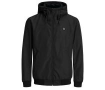 Wasserabweisende Jacke schwarz