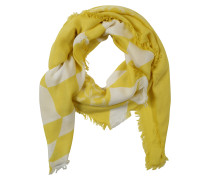 Tuch 'quilt Foulard' gelb