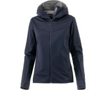 Ultimate V Softshelljacke Damen blau