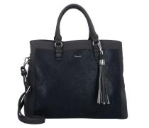 Handtasche 'Elsa' schwarz / schwarzmeliert
