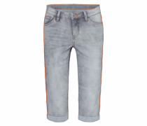 Ro:my Jeans Bermuda hellgrau