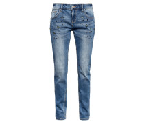 Dekorierte Denim blue denim