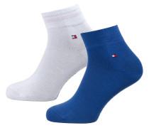 Socken blau / weiß